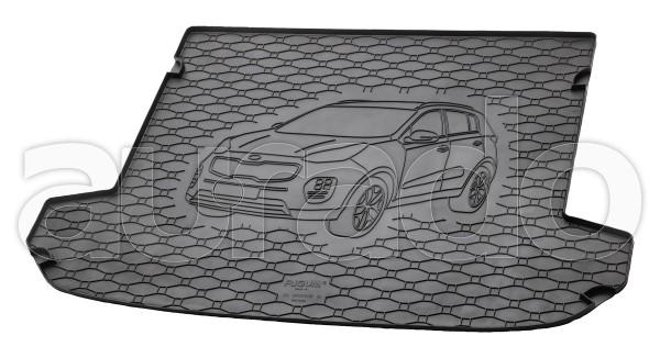 Kofferraummatte Gummi für Kia Sportage IV ab 2016