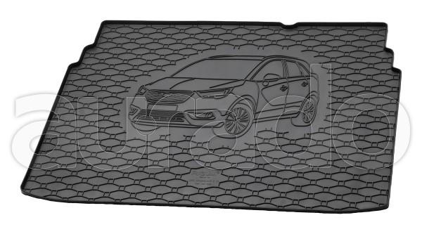 Kofferraummatte Gummi für Opel Crossland X ab 2017