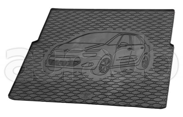 Kofferraummatte Gummi für Citroen C4 Picasso II ab 6/2013-2018/C4 Spacetourer ab 2018