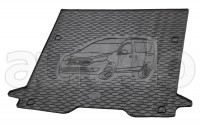 Kofferraummatte Gummi für Dacia Dokker ab 2013 (5-Sitzer)