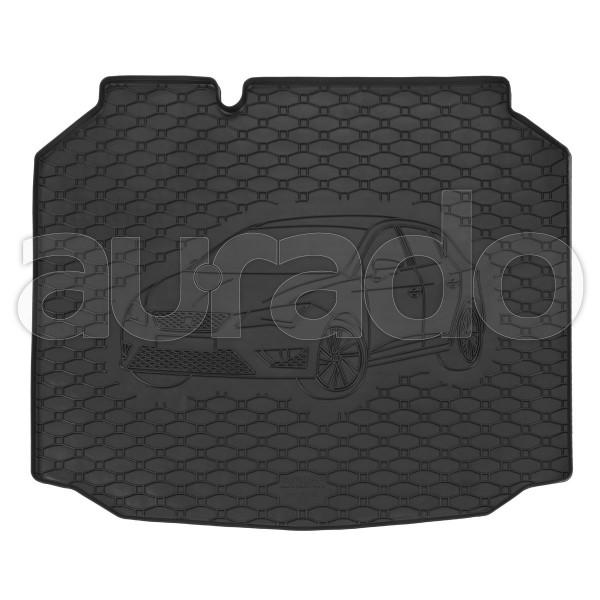Kofferraummatte Gummi für Seat Leon (5F) ab 12/2012-3/2020 (vertiefter Standard-Boden)