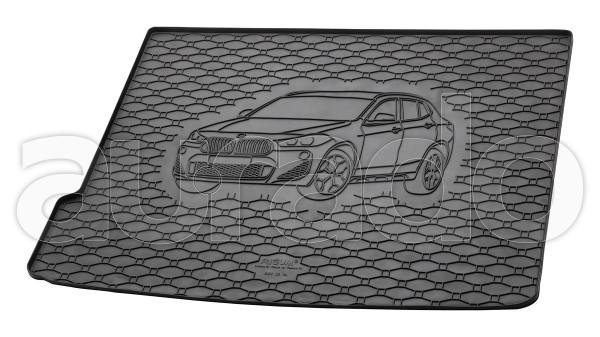 Kofferraummatte Gummi für BMW X2 (F39) ab 2018
