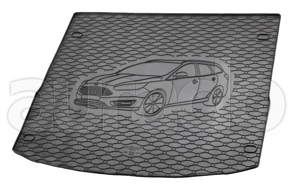 Kofferraummatte Gummi für Ford Focus III Turnier ab 5/2011-8/2018